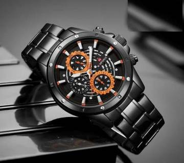 Product details of Naviforce Stainless steel Chronograph Wrist watch for Men - NF-9149B