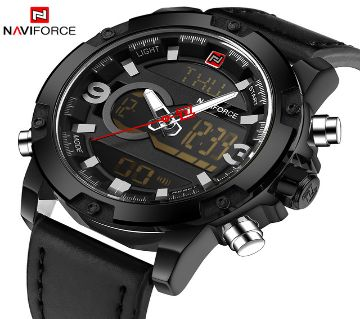 Product details of NAVIFORCE Luxury Brand 9097 Dual Display Analog Digital Watch For Men