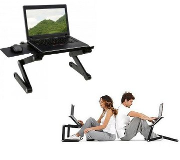Portable Laptop Table with Cooler