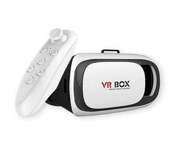 VR box with remote controller