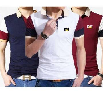 3 Pieces Combo of Gents Polo Shirts