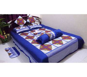 8 pcs cotton bedsheet set