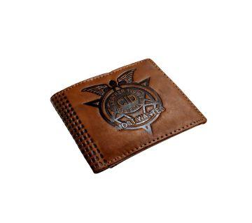 CID Artificial Leather লেদার ওয়ালেট ফর মেন