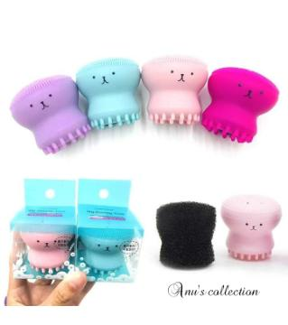 Octopus Face cleaning brush-1pcs