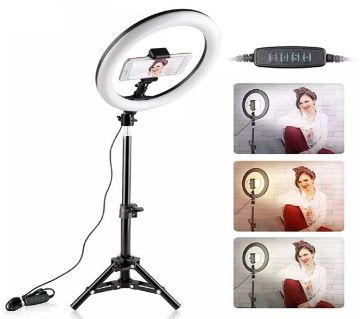 10 Ring Light with Stand