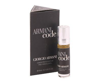 ARMANI CODE 6 ML ROLL ON ATTAR(FARHAN) France