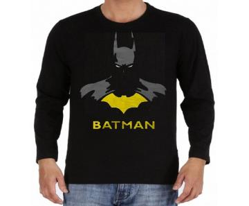 BATMAN Gents Full Sleeve Cotton T-shirt