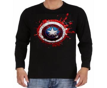 Captain America Gents Full Sleeve Cotton T-shirt
