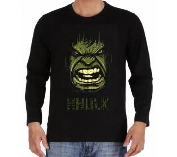 Hulk জেন্টস ফুল স্লিভ কটন টি-শার্ট