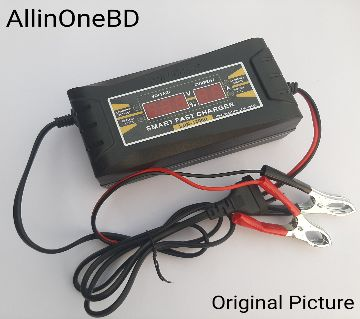 Battery Charger full Auto & digital 12v 6Ah Car Battery Charger and cycle Battery Charger 12 Volt 6 Ah Full Auto and Digital