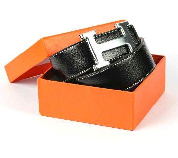 Hermes leather belt for man (Copy)