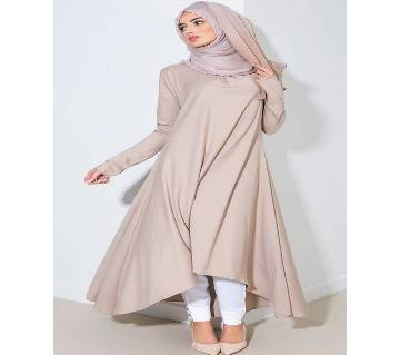 Ash China Linen  Borka For Woman