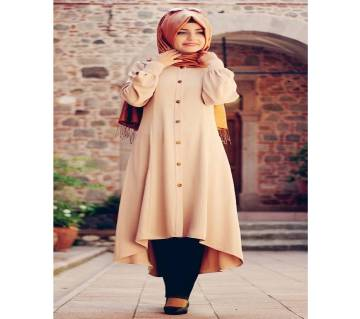 Light Brown  China Linen/BMW  Abaya For Women