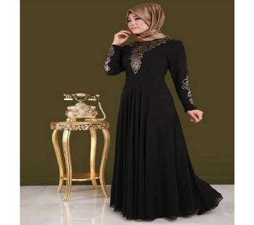 Black BMW/Georgette Borka For Women
