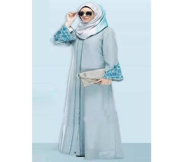 Sky Blue Georgette  Borka For Women