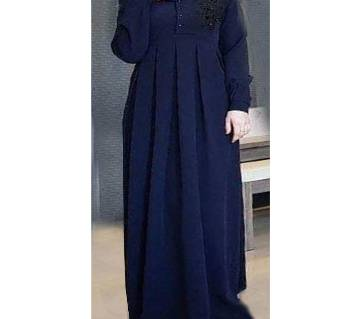 Navy Blue BMW Borka For Women