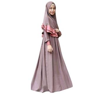 mauve Georgette Borka For Women