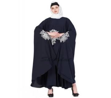Black Georgette Borka For Women