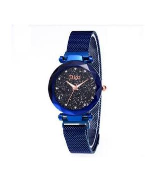 Dior ladies magnet watch-blue