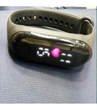 mens Digital heart rate fitness band