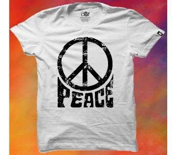 Peace Cotton T-shirt