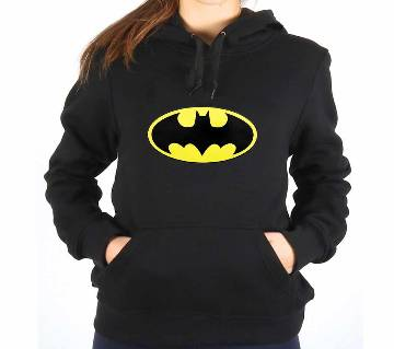 Batman Org-Black-Ladies-Hoodie
