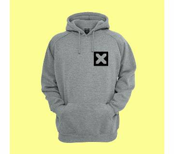 X-(3)মেনস হুডি gray