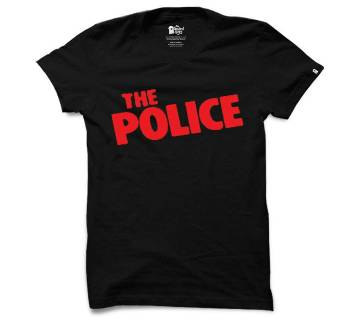 Gents Summer T-Shirt - The Police