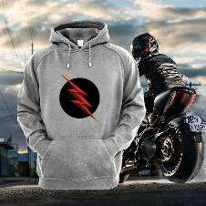 Flash Full Sleeve Gents Hoodie