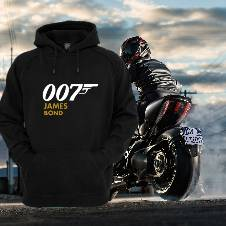 007 James Bond Full Sleeve Gents Hoodie