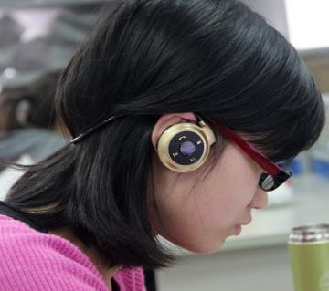 Mini-503 Bluetooth Sports Stereo Headphones(Golden)