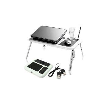 E-Laptop Table (White)