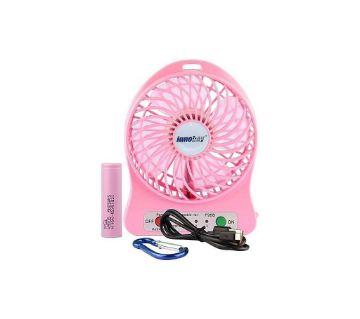 Mini Portable Desktop Fan (Pink)