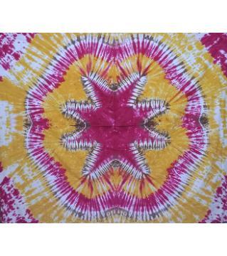 Batik Bedsheet Yellow