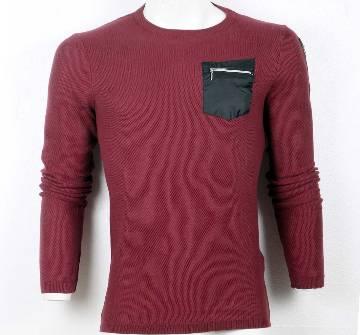 Gents woolen full sleeve sweater