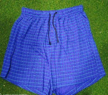 Cotton Boxer For Men  Blue
