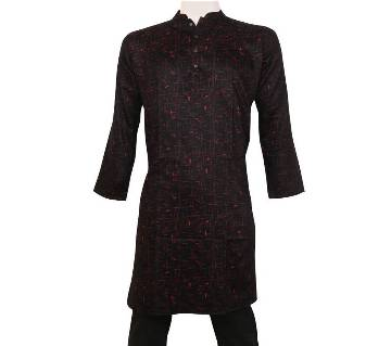 single Color Cotton Panjabi For men