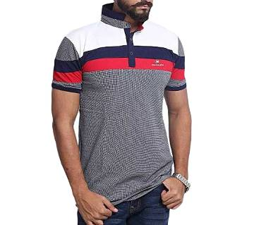 Menz Cotton Half Sleeve Polo T-shirt