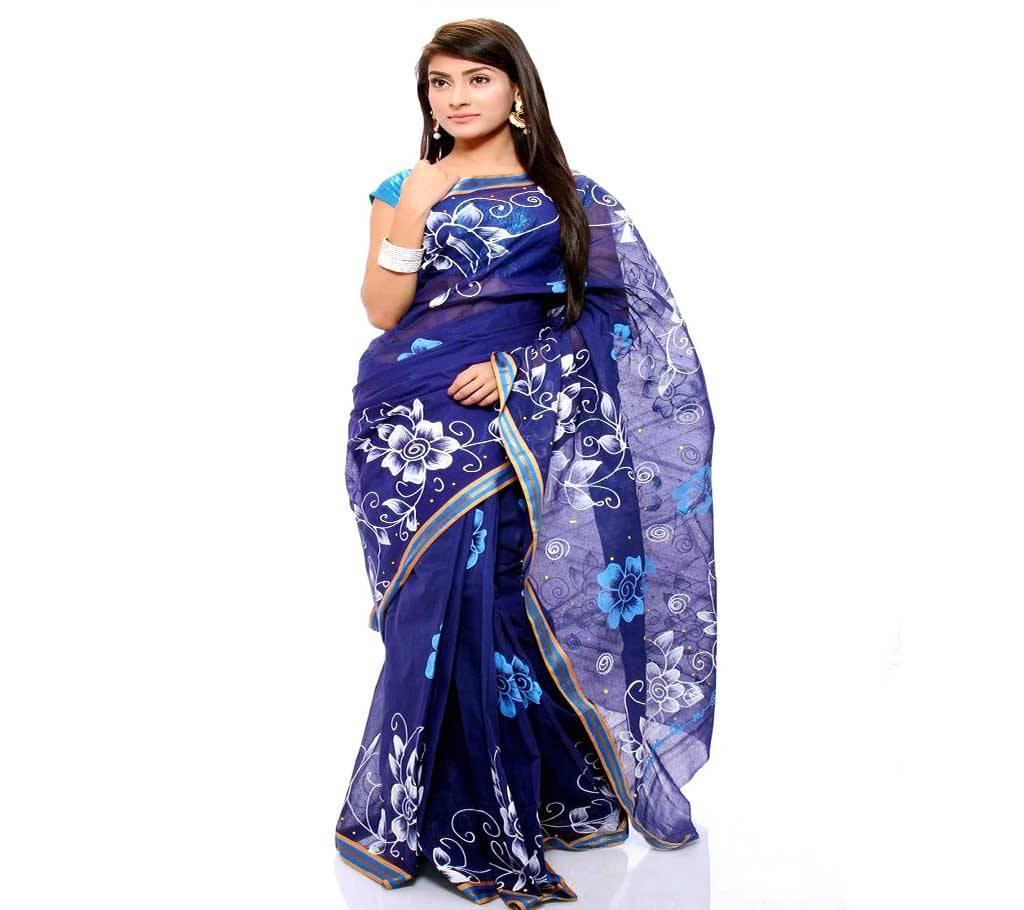 কটন কোটা হ্যান্ড প্রিন্ট শাড়ী বাংলাদেশ - 941177