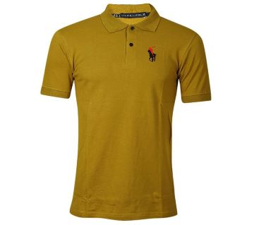Gents solid color polo shirt