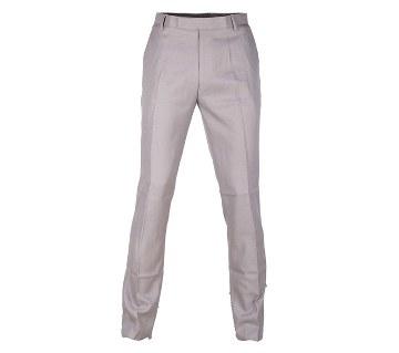 Cotton slim fit formal pants - 20% OFF