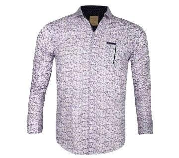 Gents full sleeve cotton shirt