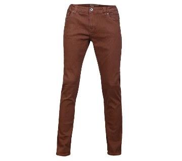 Semi narrow cotton gabardine pants