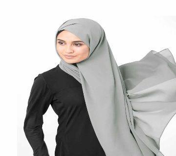 Malaysian Georgette Hijab -ash