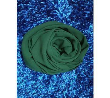 Malaysian Georgette Hijab -green