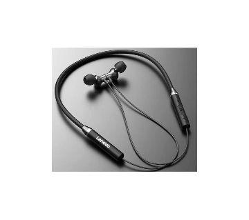 LENOVO HE05 Wireless Neckband Stereo Sports Magnetic Earphone - Black