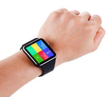 Pure Black x6 Smart Watch