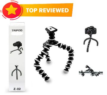 Gorilla Octopus Camera Tripod with mobile holder