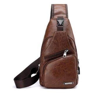 Cross Body Bag for Men Awesome Fashion Bike Rider Cross Body Leather
