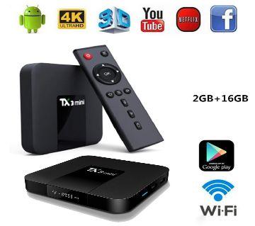 TX3 Mini Android Smart TV Box Tanix Brand Android TV Box 2GB RAM 16GB ROM Android TV BOX